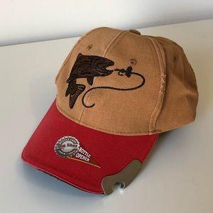 Big Shot Bottle Opener Fishing Hat!!! New